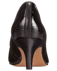 Clarks | Black Artisan Women's Sage Copper Pumps | Lyst