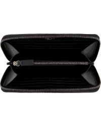 Valentino - Black Leather Full Rockstud Continental Wallet - Lyst