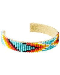 Chan Luu - Multicolor Aztec Seed Bead Small Single Bracelet - Lyst