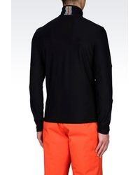 EA7 | Black Technical Ski Sweatshirt for Men | Lyst
