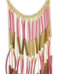 ASOS - Natural Fringe Necklace - Lyst