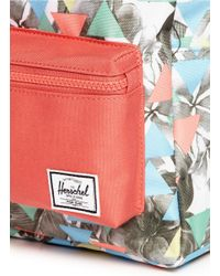 Herschel Supply Co. - Blue 'Settlement' Floral Triangle Print Kids Backpack for Men - Lyst