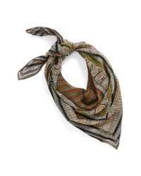Vince Camuto - Natural Silk Scarf - Lyst