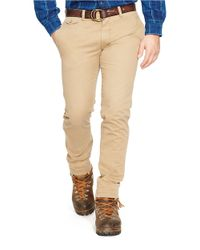 Polo Ralph Lauren | Brown Slim-fit Bedford Chino Pants for Men | Lyst