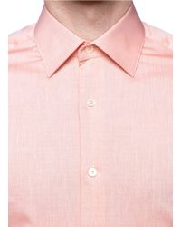Hardy Amies Red Darted Back Shirt for men