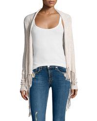 Calypso St. Barth | Natural Godarni Long-sleeve Cashmere Sweater | Lyst
