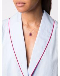 Khai Khai Purple Gummy Bear Ruby Necklace