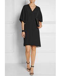 Fendi Black Silk-Cady Dress