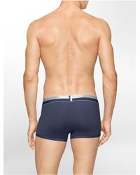 Calvin Klein - Blue Underwear Magnetic Force Micro Low Rise Trunk for Men - Lyst