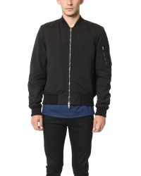 Rag & Bone - Black Manston Jacket for Men - Lyst