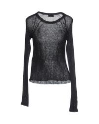Saint Laurent | Black Jumper | Lyst