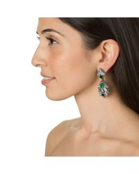 Suzanna Dai | Green Milano Drop Earrings | Lyst