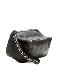 Givenchy - Black Pandora Leather Pouch - Lyst