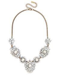 BaubleBar - Metallic Crystal Brooch Strand - Lyst