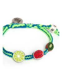 Venessa Arizaga - Green 'tropical Trio' Bracelet - Lyst