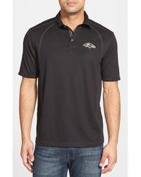 Tommy Bahama - Black 'firewall - Baltimore Ravens' Short Sleeve Nfl Polo for Men - Lyst