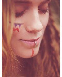 Free People - Metallic Meadowlark Womens Diamond Lip Cuff - Lyst