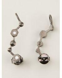 Bjorg | Metallic The Stairway Earrings | Lyst