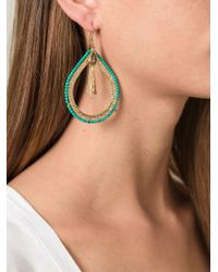 Aurelie Bidermann - Blue 'Iro' Earrings - Lyst