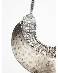 GOLDBARR | Metallic Galaxy Plate Collar | Lyst