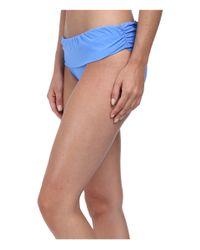 Athena - Blue Cabana Solids Banded Pant - Lyst