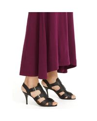 Polo Ralph Lauren - Purple Cotton Jersey Maxidress - Lyst