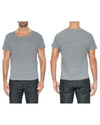 Joe's Jeans Metallic Lennox Dolman Crew Tee for men