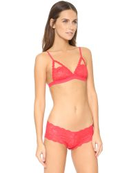 Cosabella | Red Never Say Never Naughtie Soft Bra | Lyst
