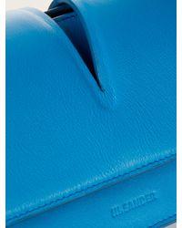 Jil Sander - Blue View Leather Cross-Body Bag - Lyst