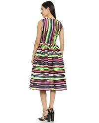 House of Holland - Multicolor Stephanie Dress - Lyst
