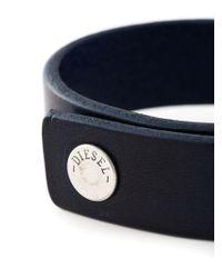DIESEL - Blue 'astugo' Bracelet for Men - Lyst