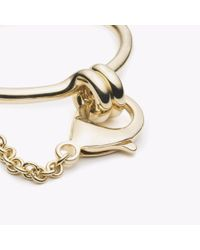 Eddie Borgo - Metallic New Safety Chain Cuff Gold - Lyst