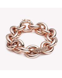 Eddie Borgo | Pink Pavé Link Chain Bracelet | Lyst