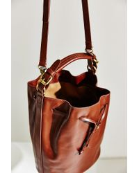 Kelsi Dagger Brooklyn | Brown Dusen Bucket Bag | Lyst
