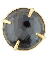 Ippolita | Metallic Gold Black Hematite Big Rock Candy Gelato Ring | Lyst