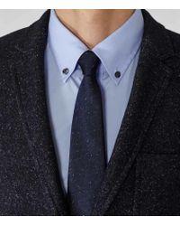 Reiss - Blue Lamb Button-Down Shirt for Men - Lyst