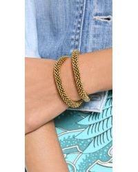 Vanessa Mooney - Metallic Notorious Bracelet - Gold - Lyst