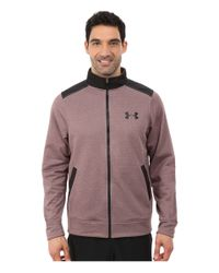 Under Armour | Purple Armour® Fleece Storm Marauder Jacket for Men | Lyst