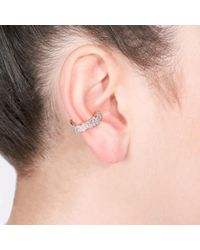 Ana Khouri - Metallic Small Diamond Mirian Ear Cuff - Lyst