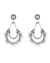 DANNIJO | Metallic Nanaya Earrings | Lyst