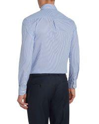 Howick - Blue Fairbanks Bengal Stripe Shirt for Men - Lyst