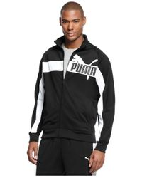 c1e2d1ad8289 Lyst - PUMA Tricot Track Jacket in Blue for Men