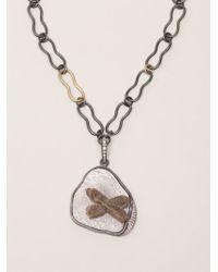 Kelly Wearstler - Gray 'roxbury' Pendant Necklace - Lyst