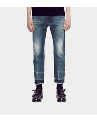 Gucci Blue Stonewashed 1953 Jean With Selvage Detail for men