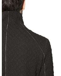 Tom Rebl Black 3D Pattern Cotton Blend Sweatshirt for men
