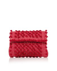 Antonello - Red M'o Exclusive Suni Mini Crossbody With Contrast Strap - Lyst