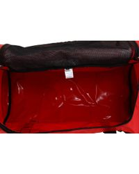 The North Face Red Base Camp Duffel Large