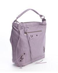 Balenciaga - Glycine Purple Leather Classic Day Bag - Lyst