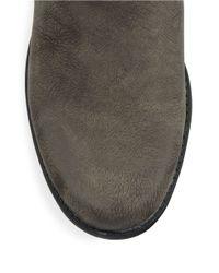 Anne Klein   Brown Lynzee Buckle Ankle Boots   Lyst
