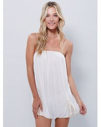 Free People - White Intimately Womens Moondance Romper - Lyst